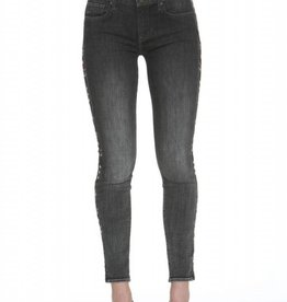 Marilyn Skinny Aztec Jean Dark Gray