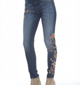 Jackie Skinny Autumn Jean Medium Wash