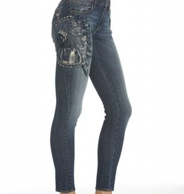 Marilyn Skinny Native Jean Med Blue