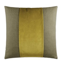 Jefferson Band Pillow - Curry 20 x 20