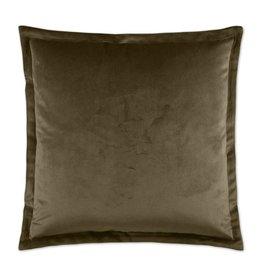 Belvedere Flange Pillow - Otter 20 x 20