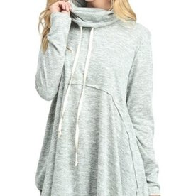 Pullover Babydoll Sweater Olive