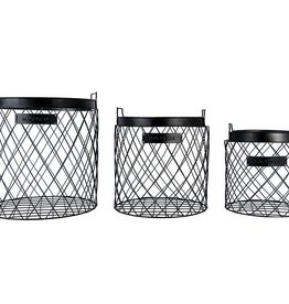 Magnolia Home Wire Rhombus Basket - Medium