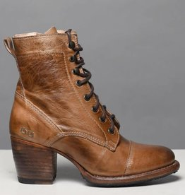 Bed Stu Judgement Lace Up Ankle Boot Tan Rustic