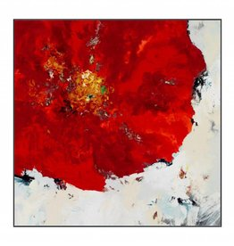 Ruby Red 47 x 47""