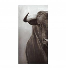 Leftbank Art Portrait of a Bull II 30 x 60""