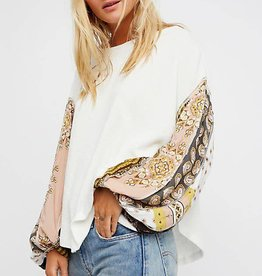 Free People Blossom Thermal Ivory