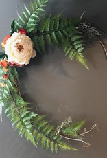 Delicate Open Spring Wreath