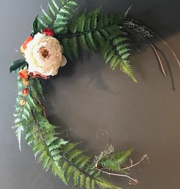 Delicate Open Spring Wreath