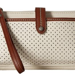 The Sak Iris Smartphone Crossbody - Stone Canyon Perforated