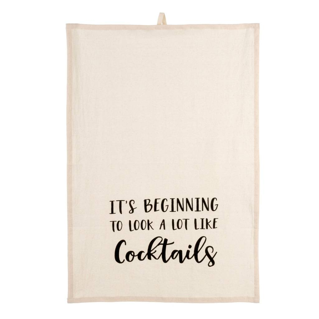 Looks Like Cocktails Tea Towels