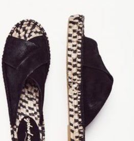 Free People Tuscan Slip On Espadrille Black
