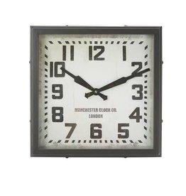 "Hamilton Metal Clock 18"""