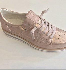 Niniva Oxford Sneaker Futuristic Pink