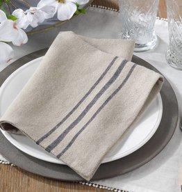 Striped Linen Napkin - Natural