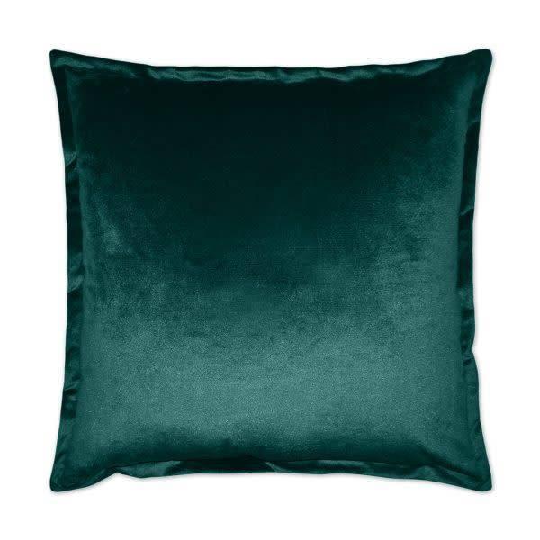 Belvedere Flange Pillow - Laguna 24 x 24