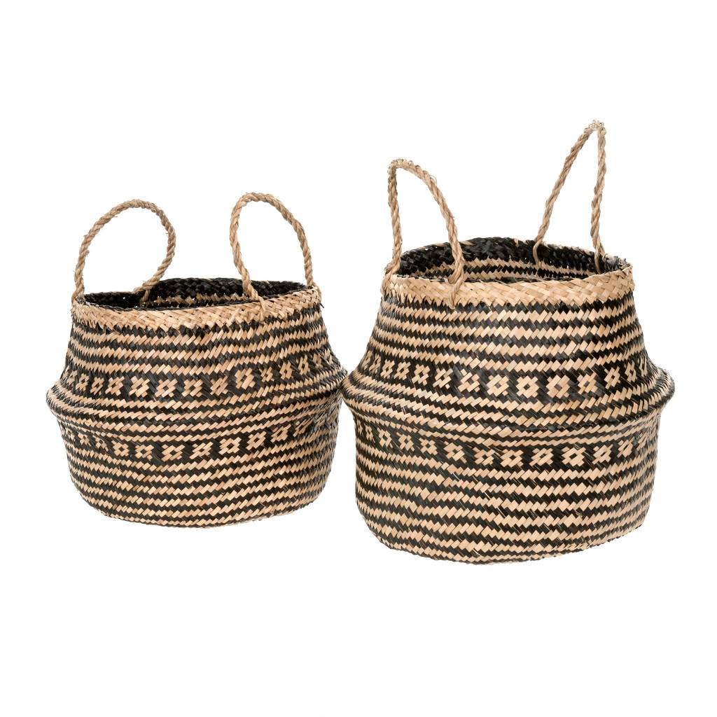 Laysan Belly Basket Black Small