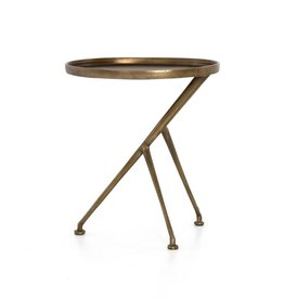 Schmidt Accent Table - Raw Brass