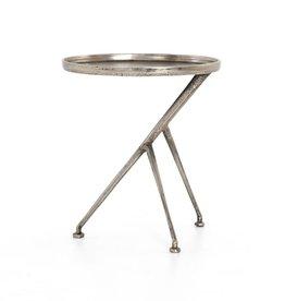 Schmidt Accent Table - Raw Antique Nickel
