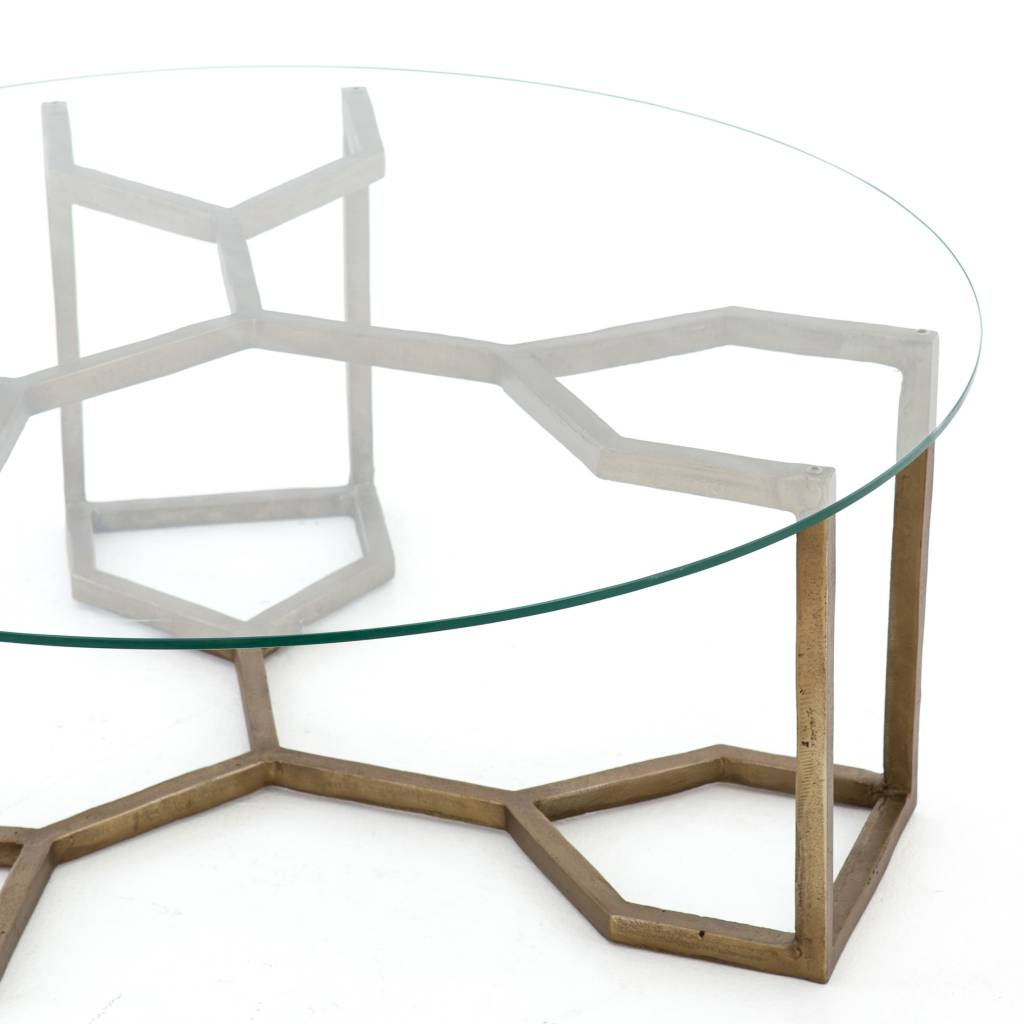 Naomi Coffee Table Glass