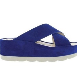 Fly London Begs Suede Sandal - Blue