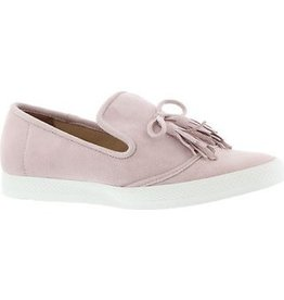all black Tassel Sneaker Pink