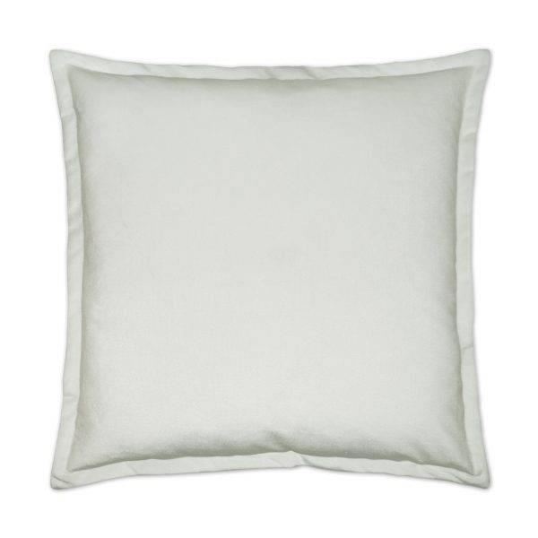 Belvedere Flanged Pillow Marshmallow 24 x 24