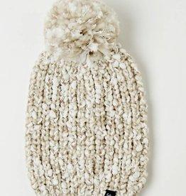 Heathered Roving Hat w/ Pom