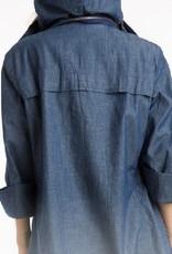The Denim Anorak Jacket - Medium Wash