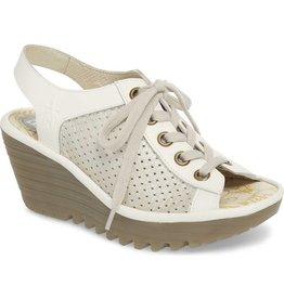 Yeki Sandal - Silver/Off White