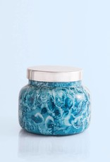 Capri Blue 19 oz Indigo Signature Jar -  Rain Watercolor
