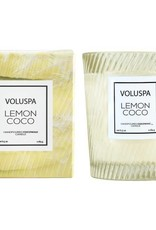 Classic Textured Candle - Lemon Coco