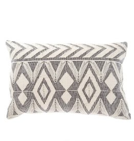 Annora Embroidered Cushion 16 x 24
