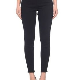 Lola Jeans Rachel High Rise Pull On Ankle Pant - Black