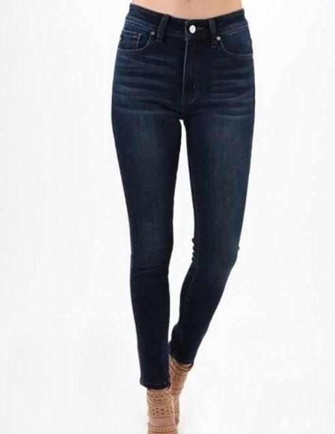 KanCan Basic Skinny Jean Dark