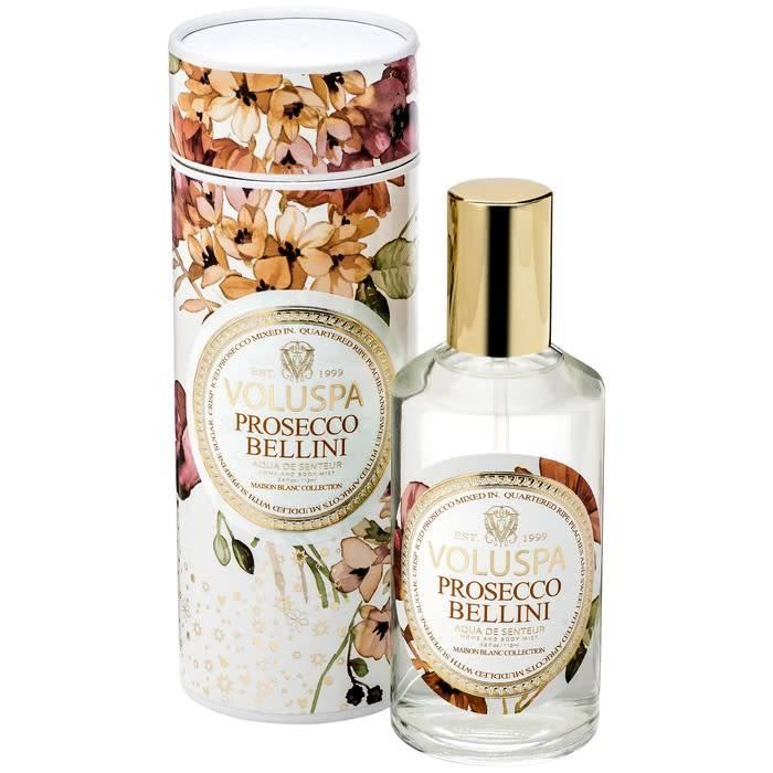 Voluspa Aqua De Senteur Room & Body Spray Prosecco Bellini