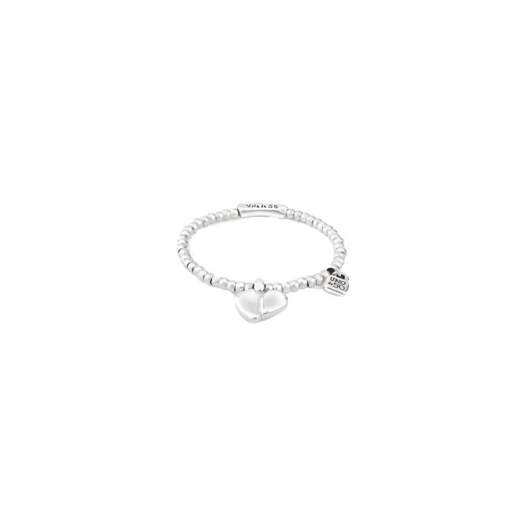 uno de 50 Romeo Stretch Bracelet Silver