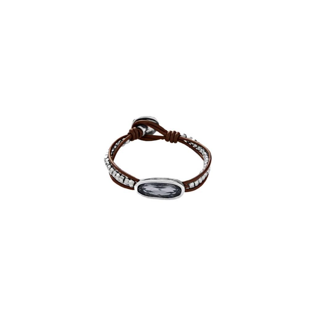uno de 50 The Tribe Bracelet Silver Night