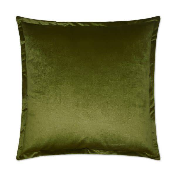 Belvedere Flange Pillow -  Aloe 20 x 20