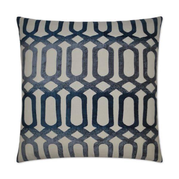 Nakita Pillow - Blue 20 x 20