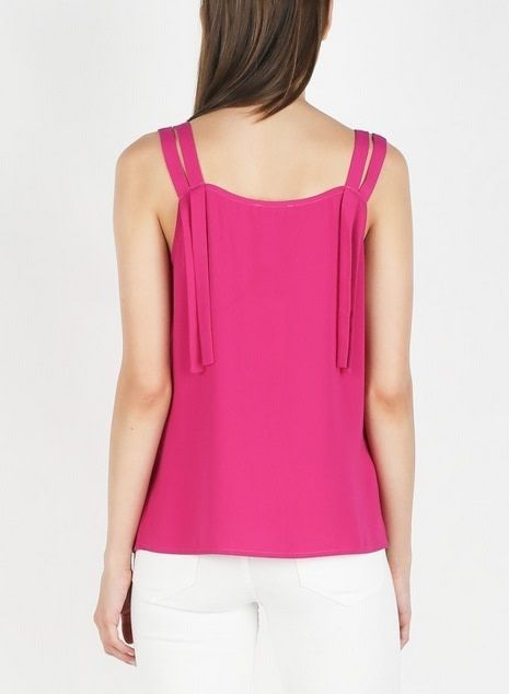 Scalloped Neck Tank Top Mulberry