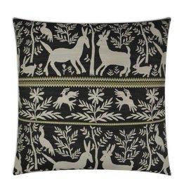Zola Pillow Charcoal - 24 x 24