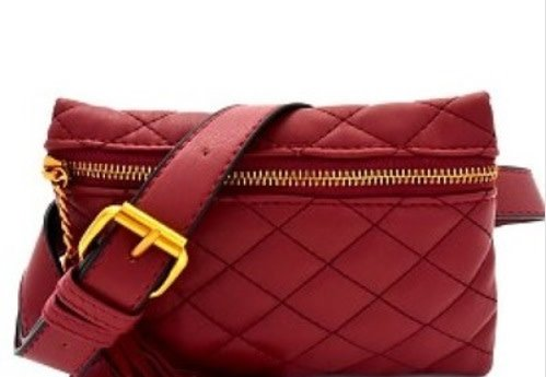 Quilted Belted Clutch