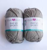 Ewe Ewe Ewe Ewe Ewe So Sporty Brushed Silver