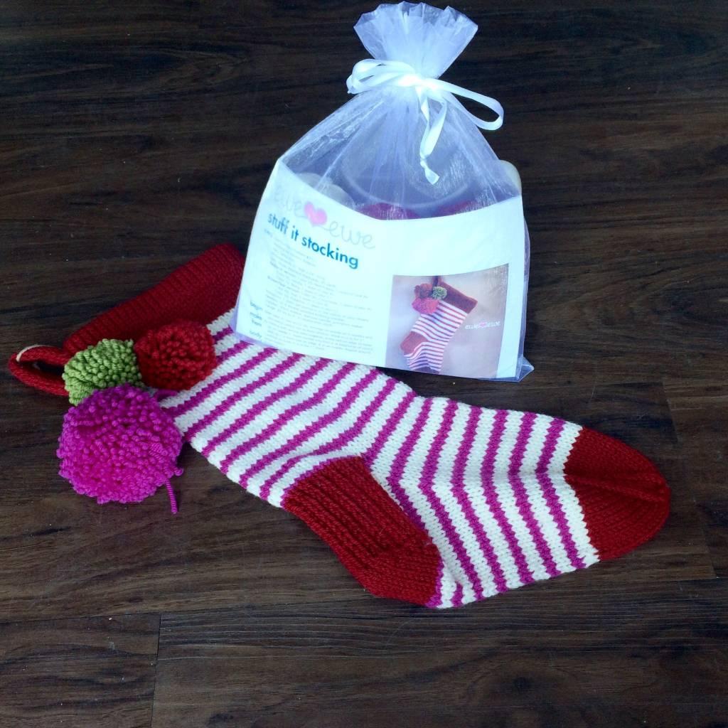 Ewe Ewe Ewe Ewe Stuff It Stocking Kit