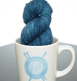 Zen Yarn Garden Zen Yarn Garden Serenity Silk Single Steely Blue