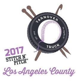 Yarnover Truck 2017 Stitch 'N Pitch Ticket - Dodgers