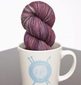 Yarnover Truck YOT Lace - Marbled Purple