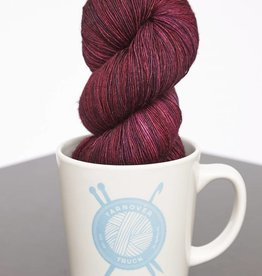Yarnover Truck YOT Lace - Marbled Red