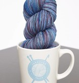 Yarnover Truck YOT Lace - Marbled Sky Blue